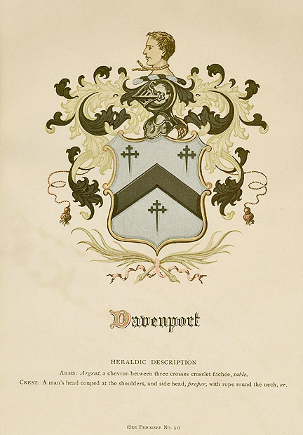 Davenport Coat of Arms