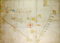 map of Stamford, 1823, click here for larger image