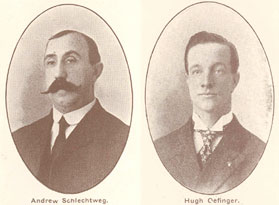 Constables Andrew Schlechtweg and Hugh Oefinger