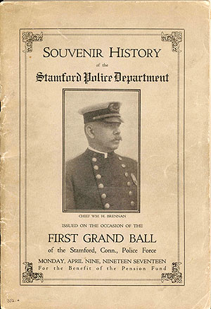 Cover of brochure for the first grand ball 1917