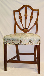 Federal Inlaid Mahogany Side Chair
