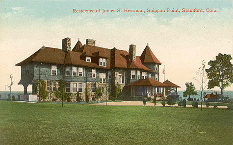 Residence of James S. Herrman, Shippan Point, Ocean Drive East