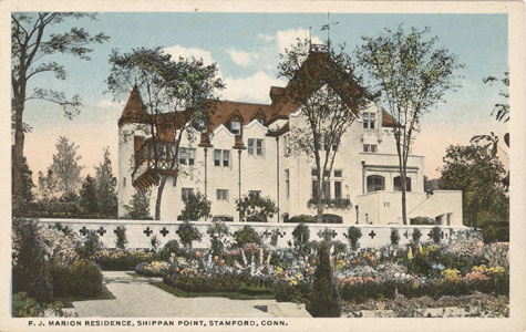 early postcard of the Marion Castle