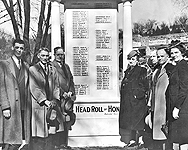 Bull's Head Roll of Honor, click for more