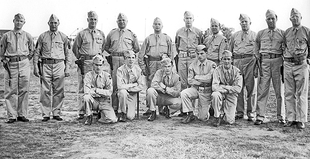 Connecticut State Guard, Niantic 1945