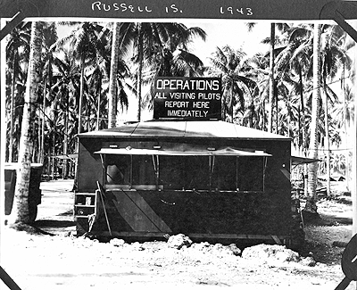 Operations Center, Russell Islands 1943