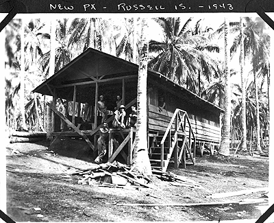 PX, Russell Islands 1943