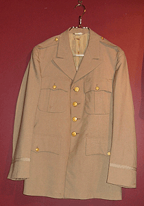 Man's wool tropical quartermaster issue, officer's uniform