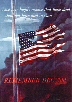 Poster designed by Allen Sandburg, issued by the Office of War Information, Washington, D.C., in 1942
