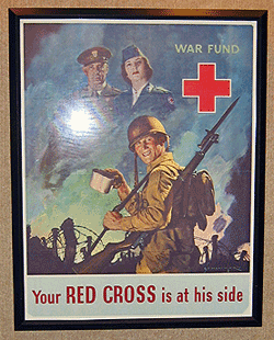 Red Cross War Fund Poster, temporary image
