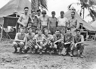 George Reiss and Medic group in the Philippines