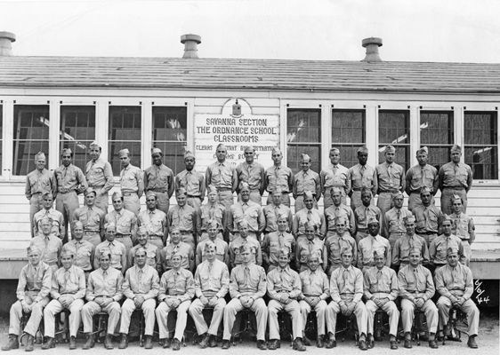 Group Photo, Savanna Section, the Ordnance School, 6 June 1944