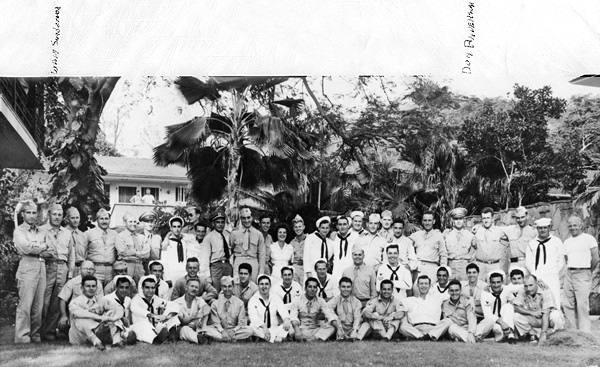 Third Annual Connecticut Day, July 4th 1945, Waikiki