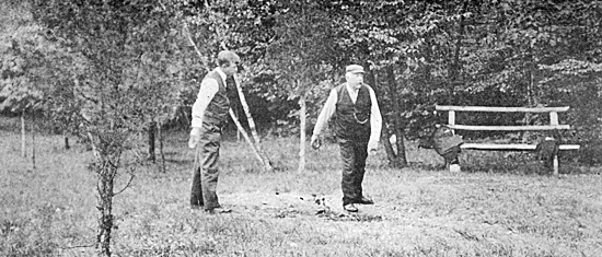 A GAME OF QUOITS