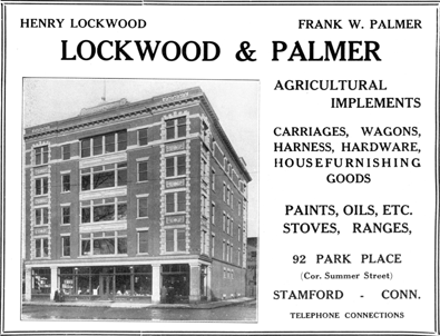 Lockwood & Palmer advertisement, 1912