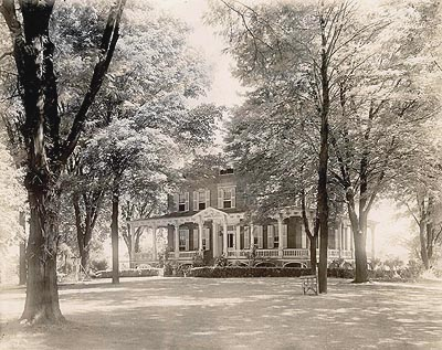 Franklin Wardwell Home around 1900