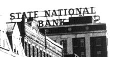 State National Bank roof sign, 1 Atlantic Street