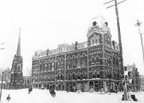 Town Hall after the blizzard