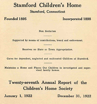 image, 1922 annual report