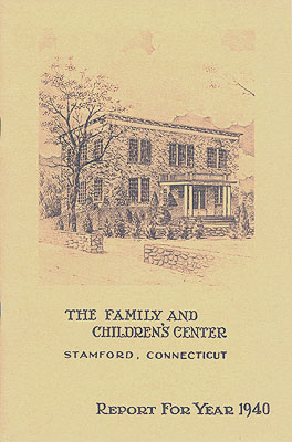 cover of 1940 annual report