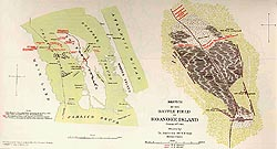 Battlefield of Roanoke Island, click here for larger image