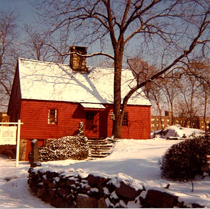 Hoyt Barnum House, winter scene