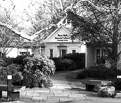 Hiram Halle Library, Pound Ridge, New York