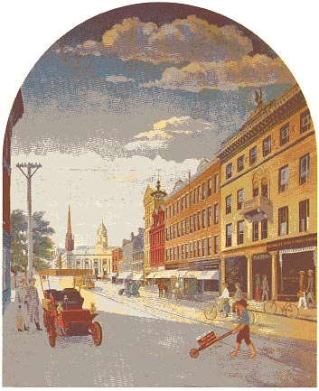 Mural: Atlantic Street 1905, click here to read about the artist