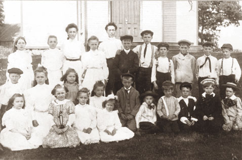 North Stamford School, c. 1900