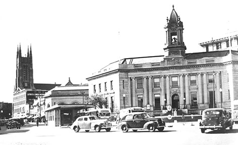 Atlantic Square in the 1940s
