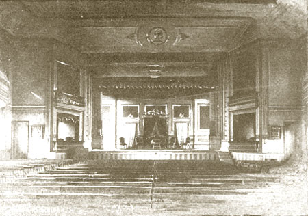 Old Town Hall, Main Hall on Third Floor, view from parquet