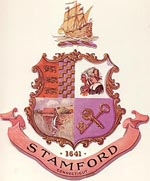 Seal of the City of Stamford, click here for story