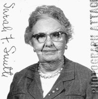 Sarah Francis Smith, passport photo circa 1966