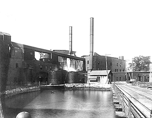 North side of old Mill