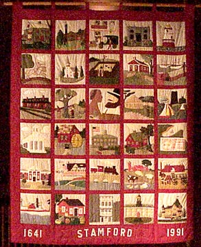 the Stamford Quilt, click to for detailed images