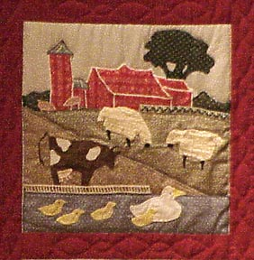 The Stamford Quilt, Stamford Museum and Nature Center 1950s