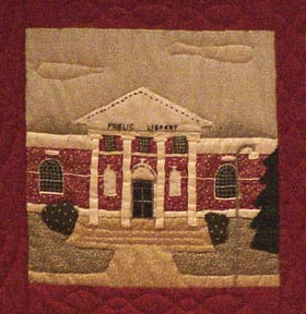 The Stamford Quilt, Ferguson Library 1911