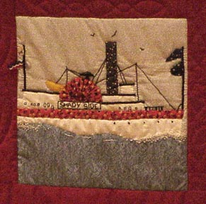 The Stamford Quilt, Shadyside Steamboat
