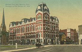 postcard of the Old Town Hall