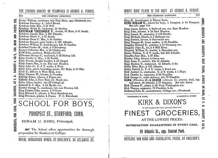 City Directory, 1892