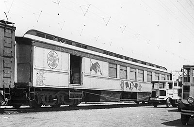 Ringling Brothers train, 1934