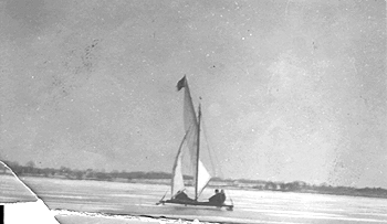 sailboat, from the Bogardus Collection
