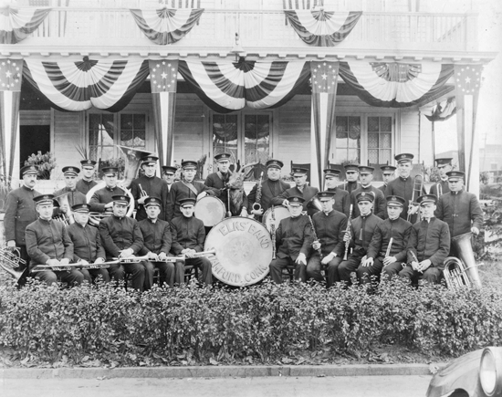 Elks Club Band, circa 1926