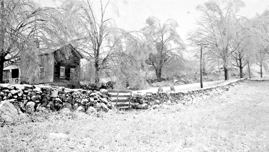 Jack and Louise Wilchers' guest cottage. On High Ridge Road towards New York State from Trinity Pass