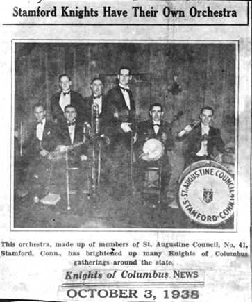 Knights of Columbus Orchestra, 1938