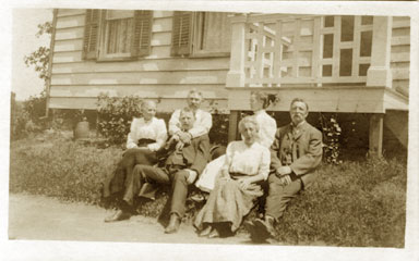 The McTavey Family on Hope Street, Springdale