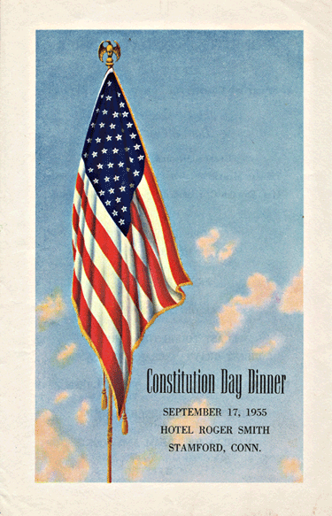 Constitution Day Dinner 1955
