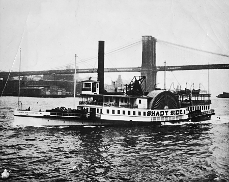 Shady Side on the East River, New York City, undated