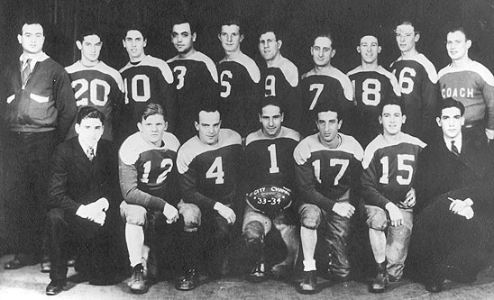 St. Mary's Athletic Club Team, 1934