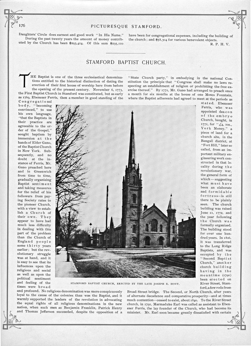 Picturesque Stamford, page 176
